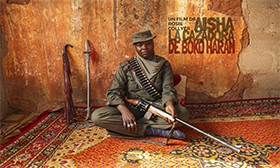 "<span>Aisha, the Boko Haram huntress <p class=""category-portfolio"">Documentary</p></span>"